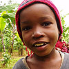 Smiling boy from Tanzania